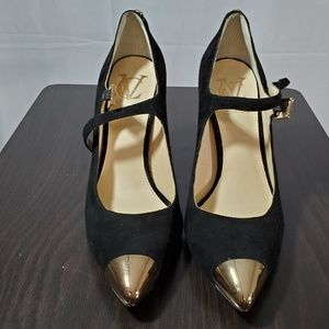 VC black and gold Heels preowned